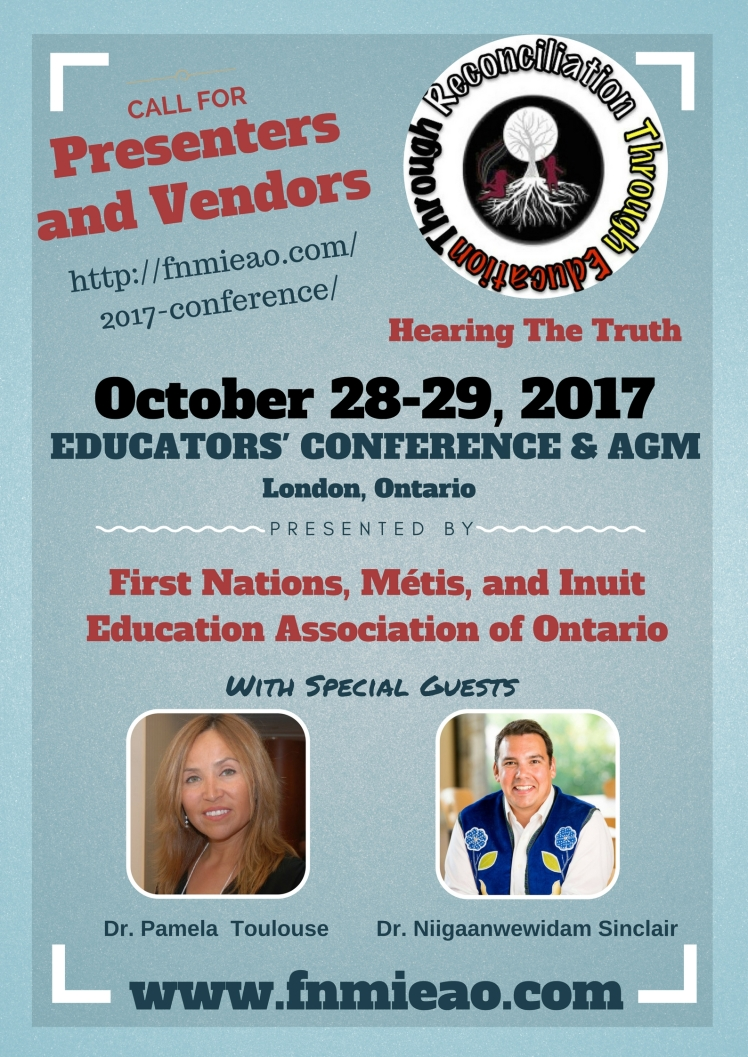 Call for presenters and vendors poster